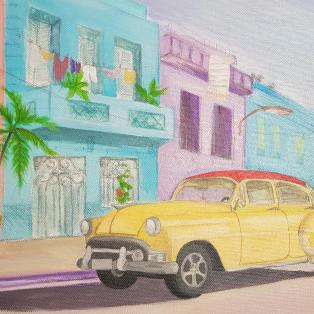 Kuba Bild malen