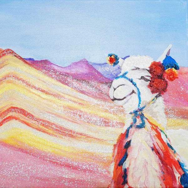Peru Bild malen